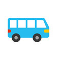 van car transport vehicle motor wheel vector image