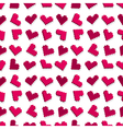 pixel heart seamless vector image vector image