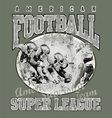 american football team vector image