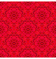 Abstract Seamless Red Geometric Pattern vector image