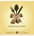 The concept of Restaurant menu vector image vector image