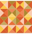 Geometric pattern with vector image vector image