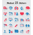Medical stickers - part 2 vector image vector image
