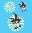 Manga cartoon vector image