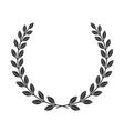 laurel wreath icon border 8 1 vector image