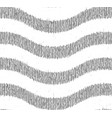 white gray wavy grunge pattern vector image