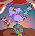 Circus show vector image vector image