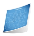 Architecture background sticker 2 vector image