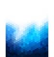 Polygonal Background for webdesign - Blue colors vector image