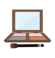 makeup and cosmetic design vector image