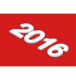 New Year background isometric vector image