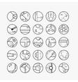 Technology design element vector image