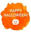 Artistic happy halloween banner vector image