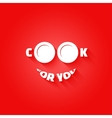 plate food concept design background vector image