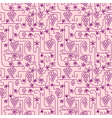 vinegrape seamless vector image vector image