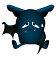 isolated bat icon vector image