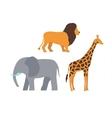 Africa animals vector image