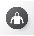 hoodie icon symbol premium quality isolated vector image
