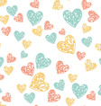 HeartAndFlowers4 vector image