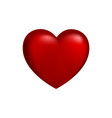 red heart with gradient for the medicine or vector image