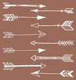 Tribal Arrows Doodle vector image