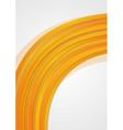 Bright wavy template vector image