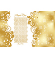 vector greeting card vector image vector image