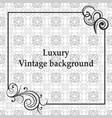 luxury ornamental background vector image