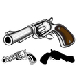 revolvers set vector image