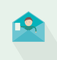 you have got mail vector image vector image