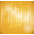 Party Design Background Yellow Color vector image
