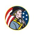 American Patriot vector image vector image