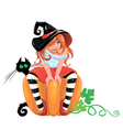 witch 2015 380 vector image
