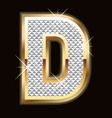 d bling bling vector image
