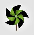 a pinwheel toy vector image