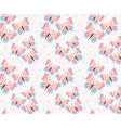 Butterfly in rose and serenity pastel colors vector image