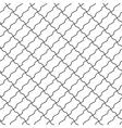 shaped bricks diagonal seamless pattern vector image