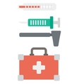 Various medical equipment vector image