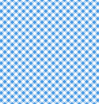 blue table cloth seamless pattern vector image