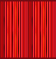 bright red curtain retro theater pattern vector image