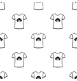 Shirt I love dogs icon in black style for vector image
