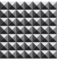 3d pyramid pattern vector image