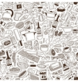 Cookery - seamless pattern vector image