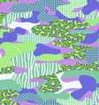 purple and green camouflage vector image