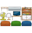 Household appliances vector image
