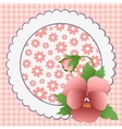 Cute template for Mothers Day vector image vector image