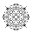 mandala ornament vector image