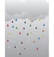 rain 01 vector image