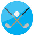icon-golf vector image