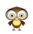 Little Cute Bird vector image